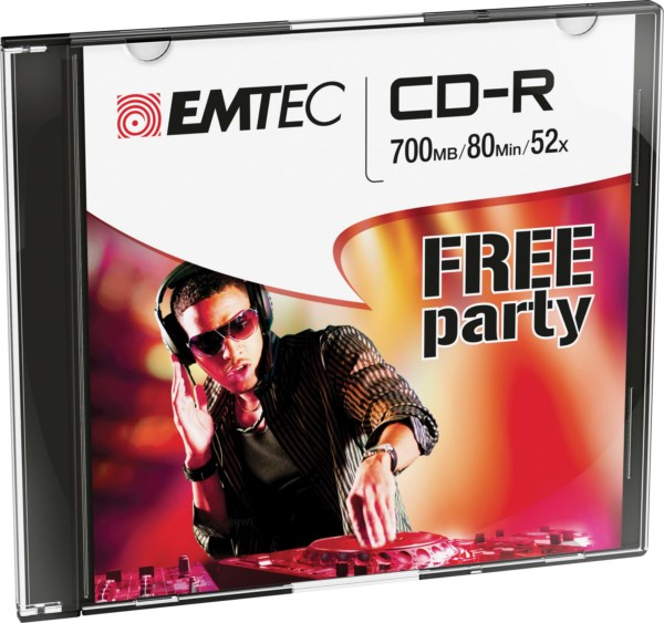 ΔΙΣΚΟΙ EMTEC CD-R 80min 700MB 52X SLIM